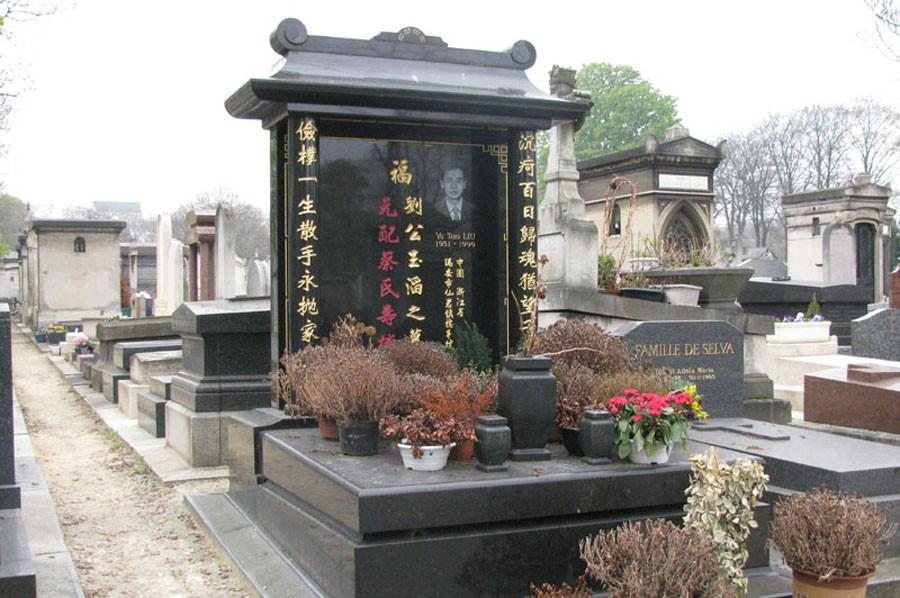 monument funéraire asiatique
